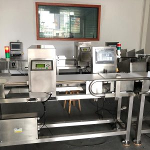 JZXR XR-980-300 Combo Metal Detector and Checkweigher 2