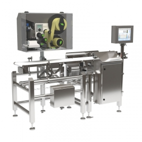 DWM 3000 HPE Labelling Checkweigher