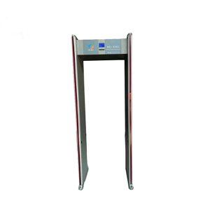 JZXR Digital Body Temperature Measurement Walk Through Metal Detector