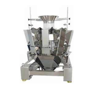 JZXR 1.6L hopper Automatic combination 10 head food multihead weigher Metal Separator 2