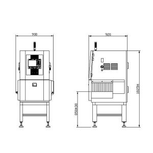 JZXR XR-3500D X-Ray Food Inspection System 2