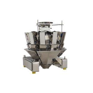 JZXR High speed waterproof 14 head multi head weigher for various granular measurement Metal Separator