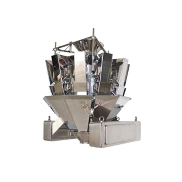 JZXR 1.6L hopper Automatic combination 10 head food multihead weigher Metal Separator