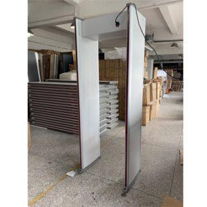 JZXR Digital Body Temperature Measurement Walk Through Metal Detector 2